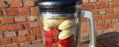 Zelf gezonde blender-ijsjes maken met bevroren bananen