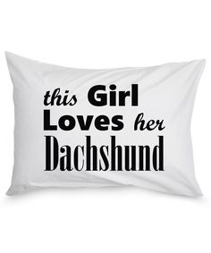 Dachshund - Pillow Case