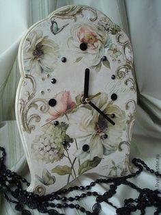 "Часы для дома ручной работы. Ярмарка Мастеров - ручная работа Часы настольные ""Париж"". Handmade."