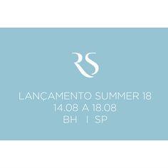 LANÇAMENTO SUMMER 18  14.08 A 18.08 I BH I SP  Agende seu horário com seu consultor/representante.☀☀☀  #ReginaSalomao #Summer18 #Lancamento