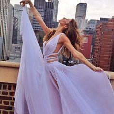Silhouette:+A-line Neckline:+V-neck Hemline/Train:Floor-length Sleeve+Length:Sleeveless Embellishment:Ruffles Back+Details:Zipper Fabric:Chiffon  Size:+standard+size+or+custom+size,+if+dress+is+custom+made,+we+need+to+size+as+following+ bust______+cm/inch+ waist______cm/inch+ hip:_____...