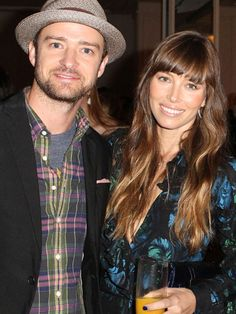 They are one of my FAVORITE celebrity couples!!! Justin Timberlake and Jessica Biel