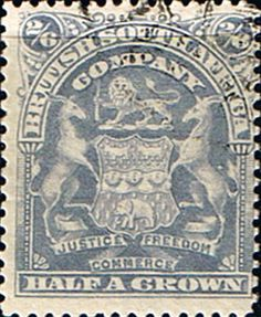 Rhodesia 1898 British South Africa Company SG 85 Fine Used Scott 67 Other Rhodesian Stamps HERE
