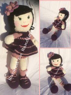 Handmade crochet doll Facebook/Hookedonhandicrafts