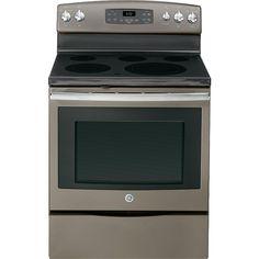 GE Appliances - JB650EFES - 5.3 cu. ft. Electric Range - Slate | Sears Outlet