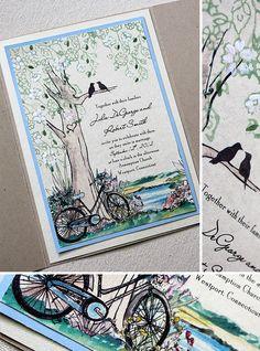 tree, love birds, bike :)