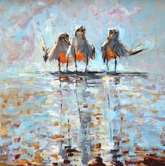 Wingmen by Kevin LePrince, 24 x 2 Oil Painting via Flickr | $2,500