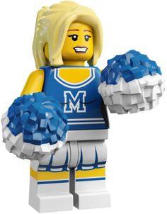Lego Minifigures - Cheerleader