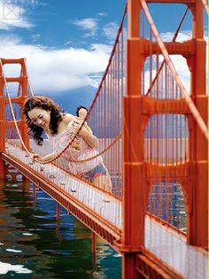 """Lilliput"" in Vogue Girl Korea Surreal Photos, Surreal Art, Soul Collage, Collage Art, Photomontage, Tim Walker, Korean Couple Photoshoot, Surrealist Collage, Collages"