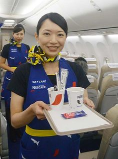 Skymark Airlines, Flight Attendant, Silk Scarves, Pilot, Captain Hat, Funny Pictures, Female, Airplane, Sexy