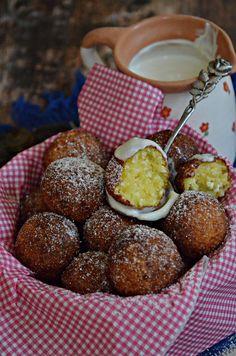 Lágy, krémes, finomságos... Pretzel Bites, Donuts, Cake Recipes, Cupcake, Food And Drink, Paleo, Bread, Cheese, Fruit