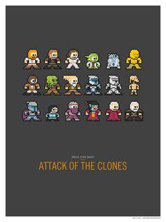 Mega Star Wars: Attack of the Clones