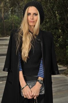 Laura Bailey Front Row at Chanel