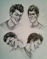 John Doe (joker) from Batman the telltale series Comic Character, Character Design, Batman Telltale, Dc Comics, The Enemy Within, John Doe, Gotham, Harley Quinn, Marvel Dc