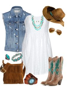 """""""Calgary Stampede Fashion"""" by trinavokes on Polyvore"""