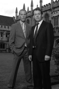 Inspector Lewis - another wonderful British detective series. Spin-off of the Morse mystery series