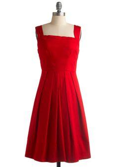 Cherry Me Up Dress, #ModCloth - Size Medium - Brand new
