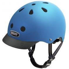 Atlantic Blue GEN3 Super Solid Nutcase hjelm #Nutcase #Cykelhjelm #EnsfarvetCykelhjelm #CykelhjelmTilMænd #CykelhjelmTilKvinder #Trafiksikker #SikkerITrafikken #BilligCykelhjelm #BlåNutcaseCykelhjelm