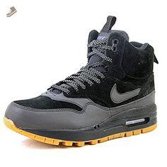 Nike Air Max 1 Mid Sneakerboot Women US 5.5 Black Sneakers - Nike sneakers for women (*Amazon Partner-Link)