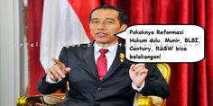 """Jokowi Mau Reformasi Hukum Gerindra: Apaanya? Kasus BLBI Saja Nggak Pernah Dibahas  [portalpiyungan.com]Fraksi Partai Gerindra mendukung penyelesaian kasus kematian aktivis HAM Munir. Penegakan hukum selayaknya tidak pandang bulu. """"Kita Fraksi Gerindra dalam penegakan hukum tidak pilih bulu istilahnya. Pasti mendukung. Kasus Munir kan sebuah peritstiwa hukum. Deliknya sudah memenuhi. Bahkan sudah ada tersangka dan dihukum. Lalu kenapa ini tidak diselesaikan? Ini kan sebuah persoalan"""" kata…"""