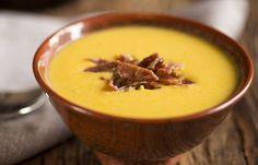 Sopa de Milho com Bacon e Especiarias - Dedo de Moça http://www.dedodemoca.net/receitas/sopa-de-milho-com-bacon-e-especiarias/