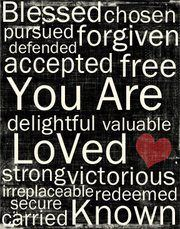 Nothing is more delightful than God's love for me!  I will delight myself in the Lord!