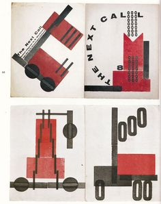 Werkman--His typography is more experimental and is filled with movement, tension, humor, ambiguity, and rhythm.