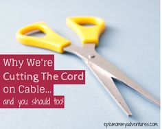 Why We're Cutting The Cord on Cable + Financial Tips for Single Parents #singleparenting #advice #singlemom #financialtips
