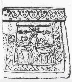 Kaptorga found in Chełm Drezdenecki, Poland. Culture: Slavic (West Slavs - early romanesque influences). Timeline: 11th century (treasure hidden after 1056). [source] Kaptorga was a small container for amulets and/or sacred herbs, worn around the neck.