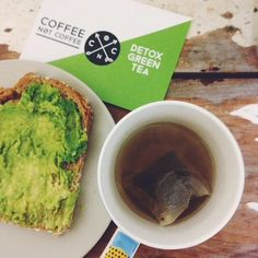 Follow us on Instagram @coffeenotcoffee www.coffeenotcoffee.com.au Detox Green Tea to cleanse and detoxify your bodily system and assist weight loss