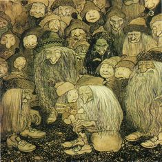 john bauer artist | Project Runeberg can be thanked for these lovely images.