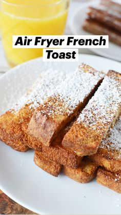 Air Fyer Recipes, Air Fryer Dinner Recipes, Air Fryer Recipes Easy, Cooking Recipes, Breakfast Time, Breakfast Ideas, Breakfast Recipes, Yummy Yummy, French Tips