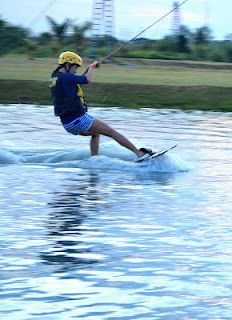 Wakeboarding  CamSur Watersports Complex (CWC) Camarines Sur, Philippines