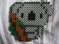 Perler bead Koala by *PerlerHime on deviantART