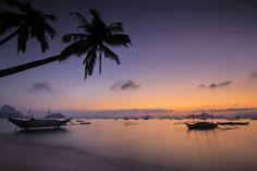 Corong Corong Beach at sunset, El Nido Shangri La, El Nido Palawan, Puerto Princesa, Seven Days, Travel Photos, Philippines, Island, Sunset, Beach