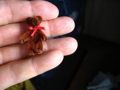 make a pipe cleaner teddy tutoirial  - French - Noursichou