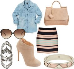 """""""Walking on 5th"""" by tarheeled on Polyvore"""