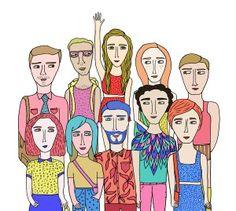 Ilustraciones por Jesu Rivero - Artista Chilena . Ilustracion