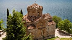 Ohrid-sjøen er en av Makedonias virkelige perler. Barcelona Cathedral, Monument Valley, To Go, Building, Places, Travel, Europe, Tourism, Viajes
