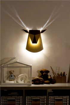 A Minimalistic animal shaped lamp. I want to find more lamps similar to This!