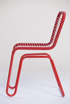 Inspired by Bus Seats, the Chair Mimics a Bus Ride - chairs/furniture - Chair Design Plywood Furniture, Cheap Furniture, Unique Furniture, Furniture Plans, Furniture Design, Discount Furniture, Furniture Dolly, Furniture Online, Furniture Outlet