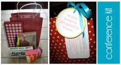 A Bushel and a Peck of FUN: General Conference Kit - A cute gift for Visiting Teaching Sisters