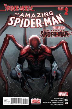 The Amazing Spider-Man #10 - Spider-Verse, Part 2: Superior Force