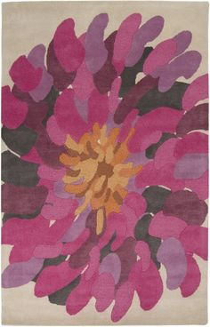 Surya BST529 Bombay Contemporary Violet (Purple) - All Rugs - Rugs | Furniture, home decor, wall decor, rugs, lamps, lighting outlet.