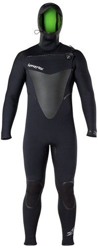 Hyperflex Wetsuits Men s Voodoo 4mm Hooded Front Zip Fullsuit 22e5bd447