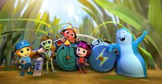 'Beat Bugs' the story of five friends who start their journey through Beatles music. So, enjoy and sing along with them.