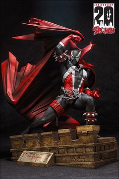 SPAWN CELEBRATES 20 YEARS WITH NEW ANNIVERSARY STATUE! $185