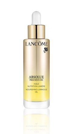 Nourishing oils for glowing skin? Lancome has you covered: http://www.luxuryfacts.com/index.php/sections/article/4390