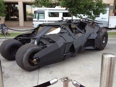 Need.  I remember the first time I saw Nolan's Batmobile. I thought it was odd and didn't get it. Then I saw fan footage from filming of 'Begins' .... the way it moved and the fact it was a real working vehicle totally altered my opinion. I'm a big fan of the Tumbler.