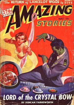 Comic Book Cover For Amazing Stories v16 05